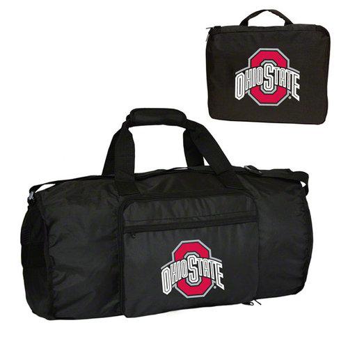 NCAA - Ohio State Buckeyes Fold-Away Duffle Bag