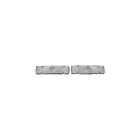 Eckler's Premier  Products 40-137598 Full Size Chevy Parking Light Lenses, Clear,