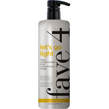fave4 Lets Go Light - Fave Conditioner for Lightweight Shine 25.36 oz