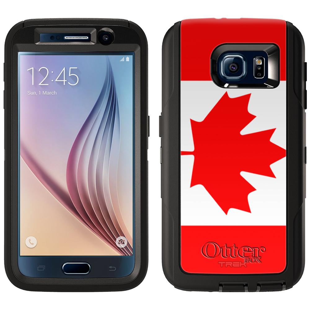 OtterBox Defender Samsung Galaxy S6 Case - Canada Flag Ot...
