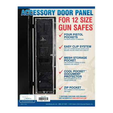 Liberty Safe Gun Safe Accessory Door Panel, Model 12, 10 x 40-In.