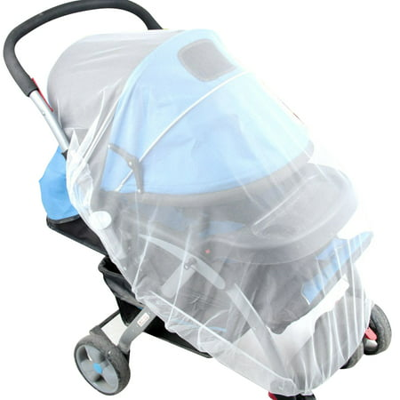 Joyfeel Clearance Mosquito Net Stroller Infants Baby Safe Mesh White Bee Insect Bug Cover