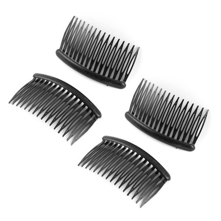 Women Ladies Plastic 16 Tooth Comb Hair Clip DIY Hairstyle Maker Black 4