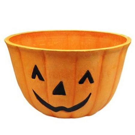 10 Pumpkin Planter with Face (Pumpkin Pots)