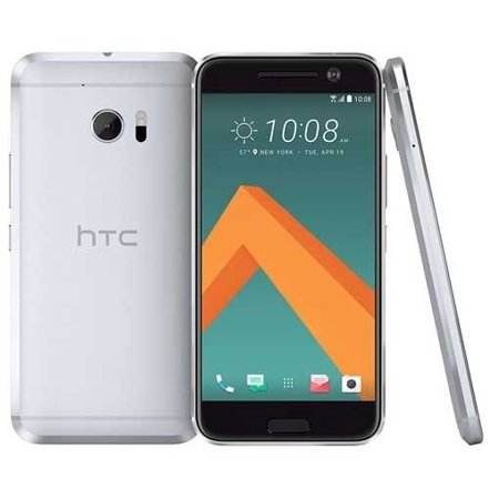 HTC 10 4G LTE Android 32GB SmartPhone Glacier Silver Verizon + GSM Unlocked Refurbished ()