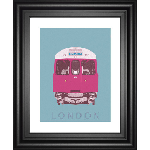 Classy Art Wholesalers London Transport 3 by Ben James Framed Graphic Art