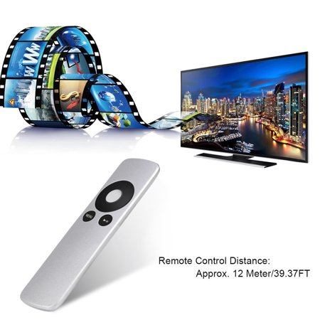 WALFRONT Durable Replacement Remote Control Controller For Apple TV1 Apple TV2 Apple TV3 Silver , Remote Controller For Apple TV, Remote Control - image 5 of 8