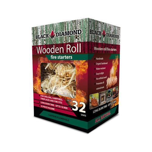 Black Diamond Charwood BDS32 Fire Starters, Hardwood Strands, 32-Pk. by BLACK DIAMOND CHARWOOD