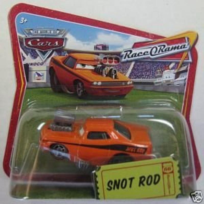 Snot Rod Snotrod Disney Pixar Cars 1:55 Scale Short Card Edition Mattel Hard to Find by