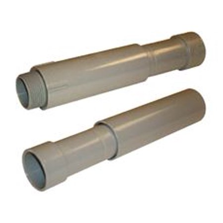 Straight 2 Pvc Coupling (Pvc Sch 40 Expansion Coupling 2 In. )