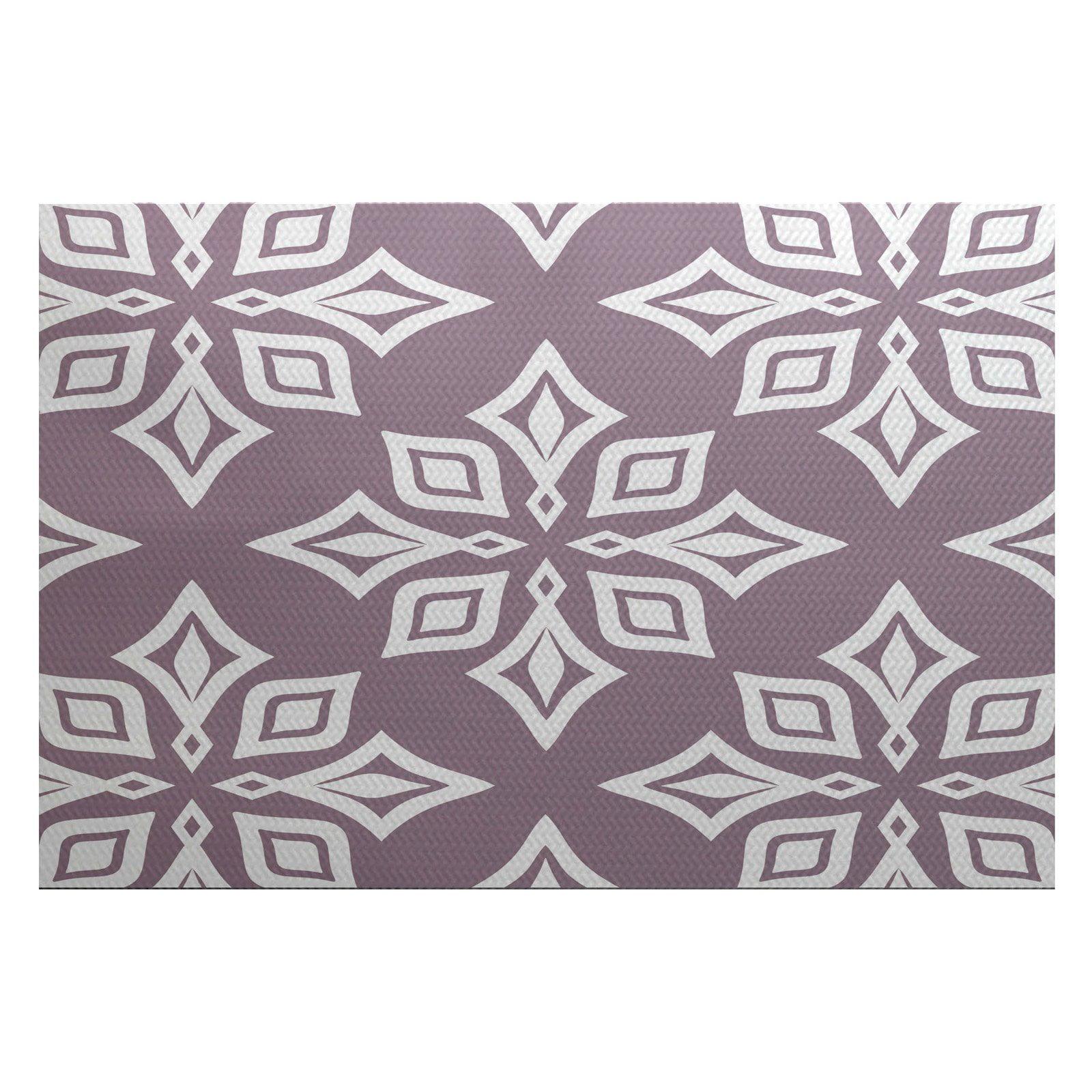 Simply Daisy 3' x 5' Beach Star Geometric Print Indoor Rug