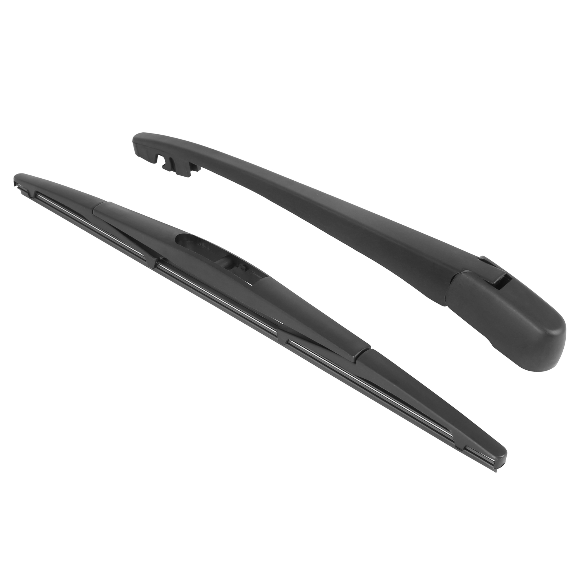 Black Rear Windshield Wiper Blade Arm Set For Honda Acura