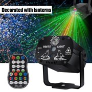 LED Party Lights, DJ Disco Lights, USB Rechargeable RGB Stage Effect Projector Lights with Remote Stage Lights Strobe lights for Birthday Parties Wedding KTV Halloween Decorations Light