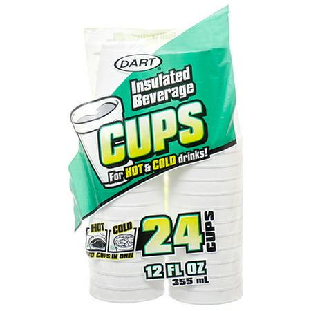 New 312036  Dart Foam Cup 12 Oz 24 Ct (12-Pack) Plates Cheap Wholesale Discount Bulk Party Supplies Plates Accessories - Styrofoam Planes