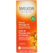 Weleda Muscle Massage Oil, Arnica Extracts, 3.4 fl oz (100 ml)