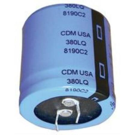 2X Cornell Dubilier 380Lq102M250K032 Capacitor Alum Elec 1000Uf 250V 20% (250v Film Capacitor)