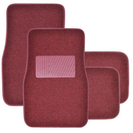 Bdk Premium Heavy Carpeted Car Floor Mats For Car 4 Piece