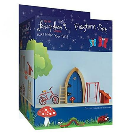 Irish Fairy Door (Irish Fairy Door 4-Piece Playtime Accessory)
