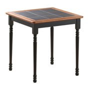 Farmhouse Tile Top Square Dining Table - 30x30 in.