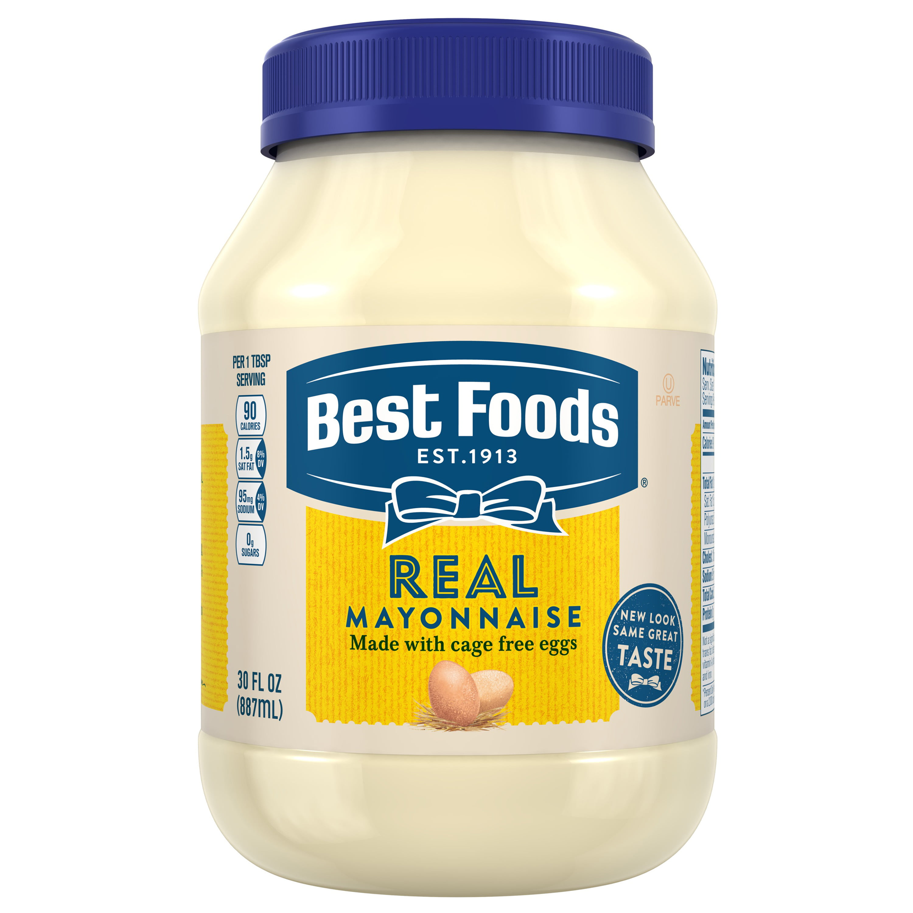 Best Foods Gluten Free, Kosher Condiment Mayonnaise 30 oz ...