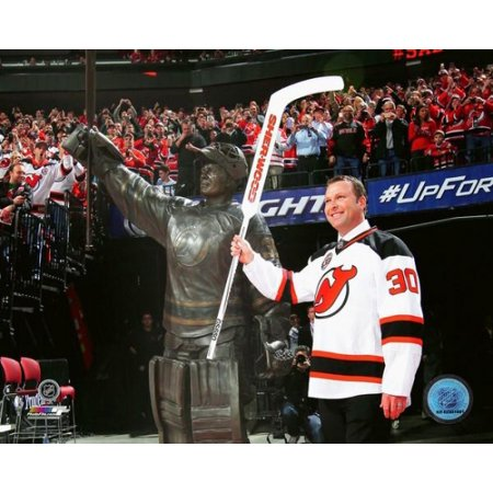Martin Brodeur jersey retirement ceremony- February 9 2016 Photo Print ()