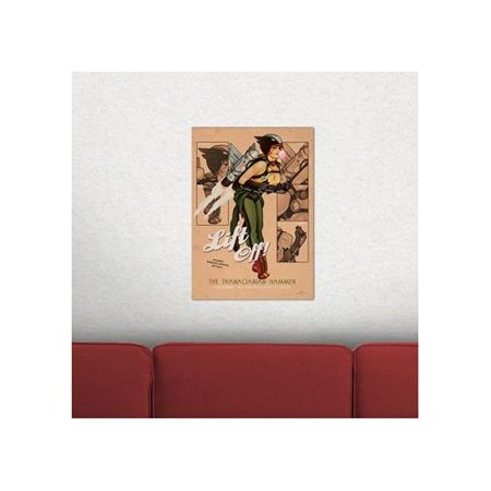 MightyPrint DC Comics Justice League 'Bombshell Hawk Girl' Graphic Art Print - Justice League Girl