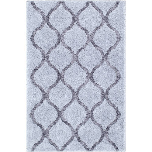 Made Here Fret Pattern Bath Rug Collection by 1888 MILLS