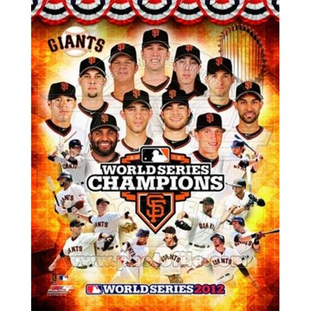 Photofile PFSAAPH14601 San Francisco Giants 2012 World Series Champions Composite Sports Photo - 8 x 10 - image 1 of 1