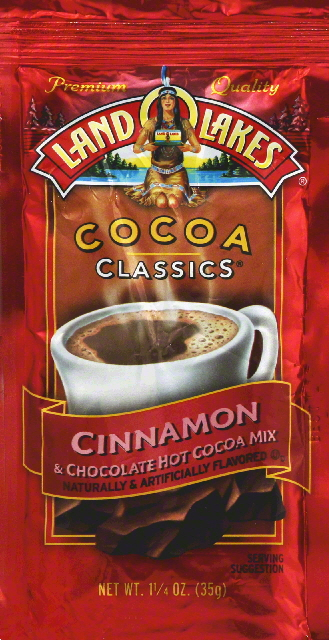 Land O Lakes Cocoa Classics Cinnamon & Chocolate Hot Cocoa Mix 1.25 oz. Packet by Land O Lakes