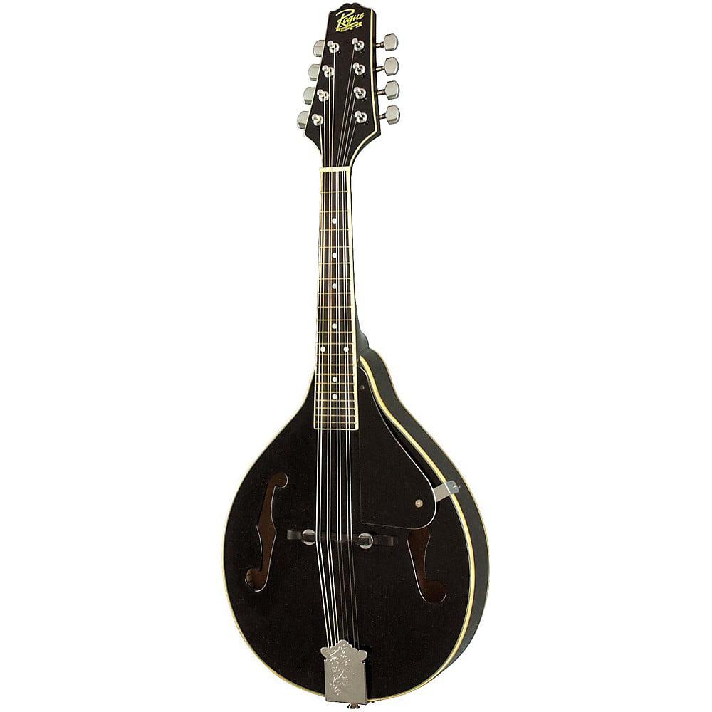 Rogue RM-100A A-Style Mandolin Black by