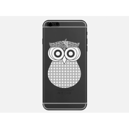 Owl India Henna Tattoo Style Phone Case for the Apple Iphone 6 - Owls Pattern Cases ()