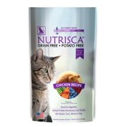 Nutrisca Catswell Chicken Recipe Dry Cat Food, 4 lb