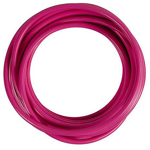 JT&T Products 143F 14 AWG Pink Primary Wire, 15' Cut