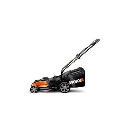 """WORX 17"""" Cordless Electric-Powered Push Lawn Mower with IntelliCut"""