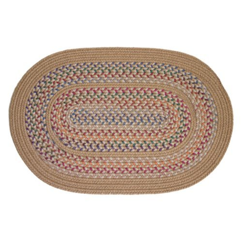 Rhody Rug Tapestry Wheat Rug