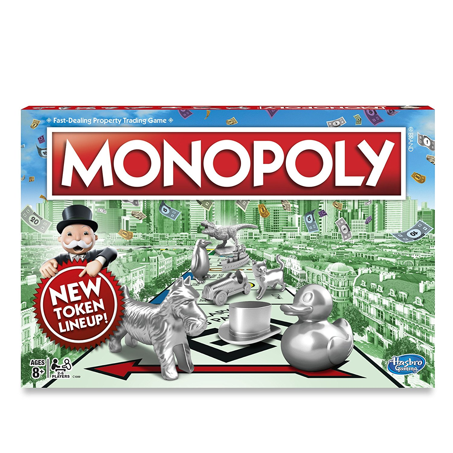 Monopoly Classic Game, Buy, sell, dream and scheme your way to riches By Hasbro by