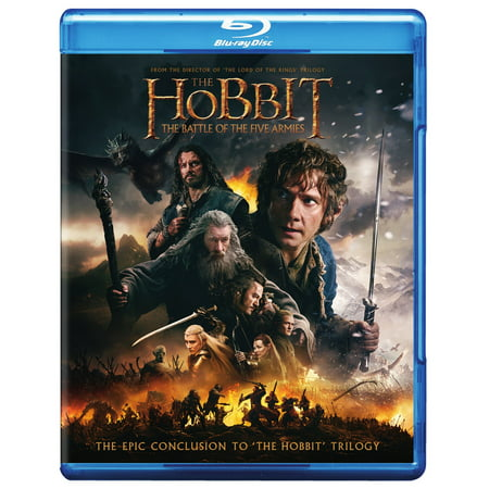 The Hobbit  The Battle Of The Five Armies  Blu Ray