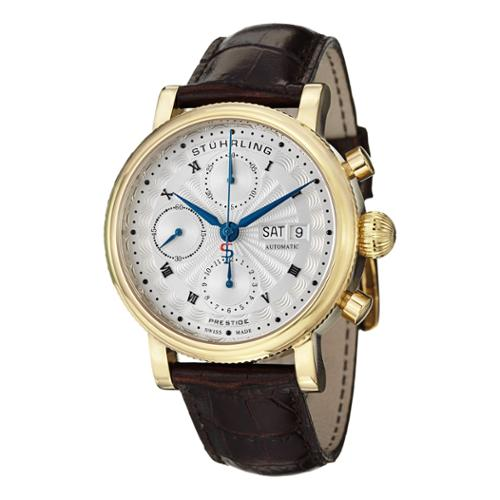 Stuhrling Original  Men's Prominent Swiss Made Automatic ...