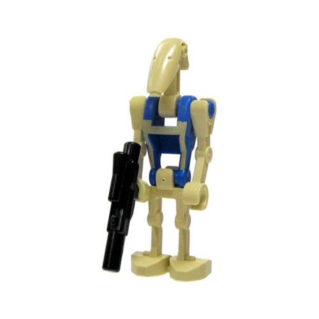 Lego Minifigure   Star Wars   Battle Droid Pilot With Blaster Gun