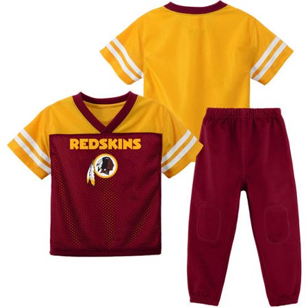 best sneakers 44291 4fc3d NFL Washinton Redskins Toddler Short Sleeve Top and Pant Set