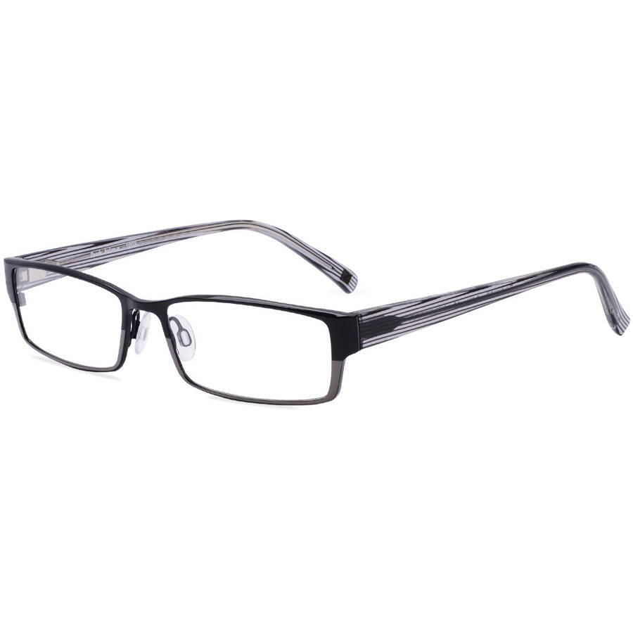 Randy Jackson Mens Prescription Glasses, 1003 Black