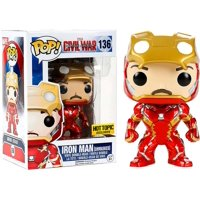 Funko POP! Marvel Iron Man Vinyl Bobble Head [Civil War, Unmasked]
