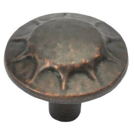 Hickory Hardware P3562-DAC 1.25 In. Clover Creek Dark Antique Copper Cabinet - Dark Antique Copper Knob