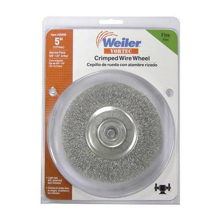 Weiler 36405 Fine Crimped Wire Wheel, -