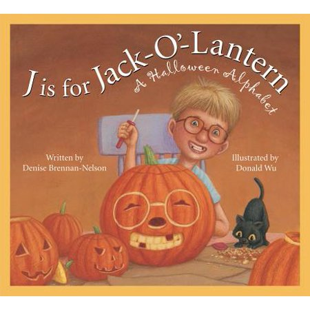 J Is for Jack-O'-Lantern : A Halloween Alphabet](Mm This Is Halloween)