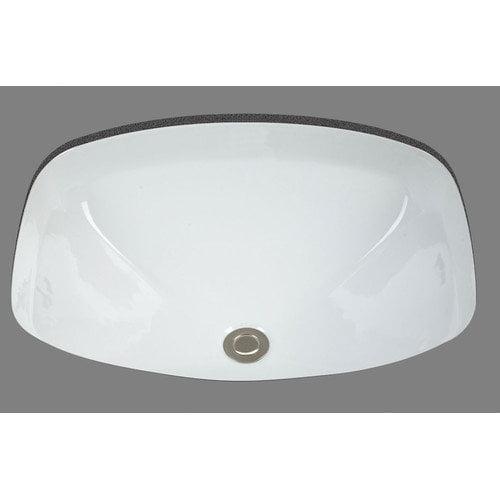 Bates & Bates Jessica Undermount Porcelain Bathroom Sink