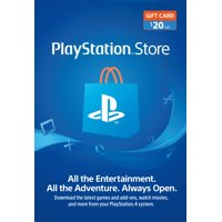 PlayStation Store $20 Gift Card, Sony [Digital Download]