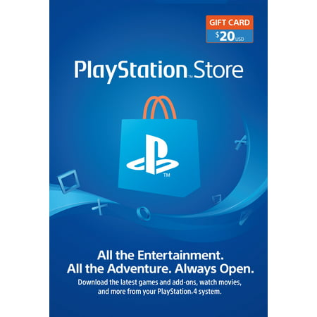 PlayStation Store $20 Gift Card, Sony [Digital