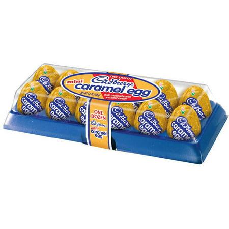 Cadbury Mini Caramel Easter Eggs 3.8oz/12ct