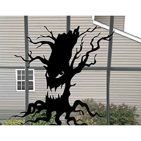 HALLOWEEN D?COR ~ SCARY TREE ~ HALLOWEEN: WALL OR WINDOW DECAL, 13